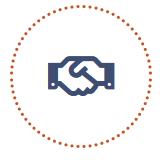 Ceci est un pictogramme illustrant la première étape de l'accompagnement des dirigeants de tpe et pme réalisé par NaGa Conseil.