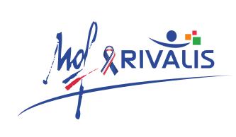 Ceci un logo du partenariat entre l'organisme meilleur ouvrier de France et le groupe Rivalis.